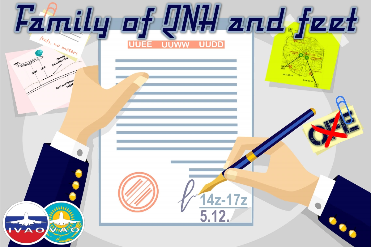 [XR] Family of QNH and feet