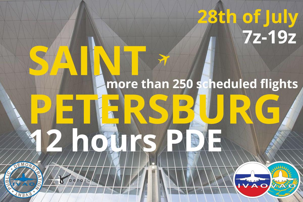 [XR+HQ] Saint-Petersburg 12 hours PDE